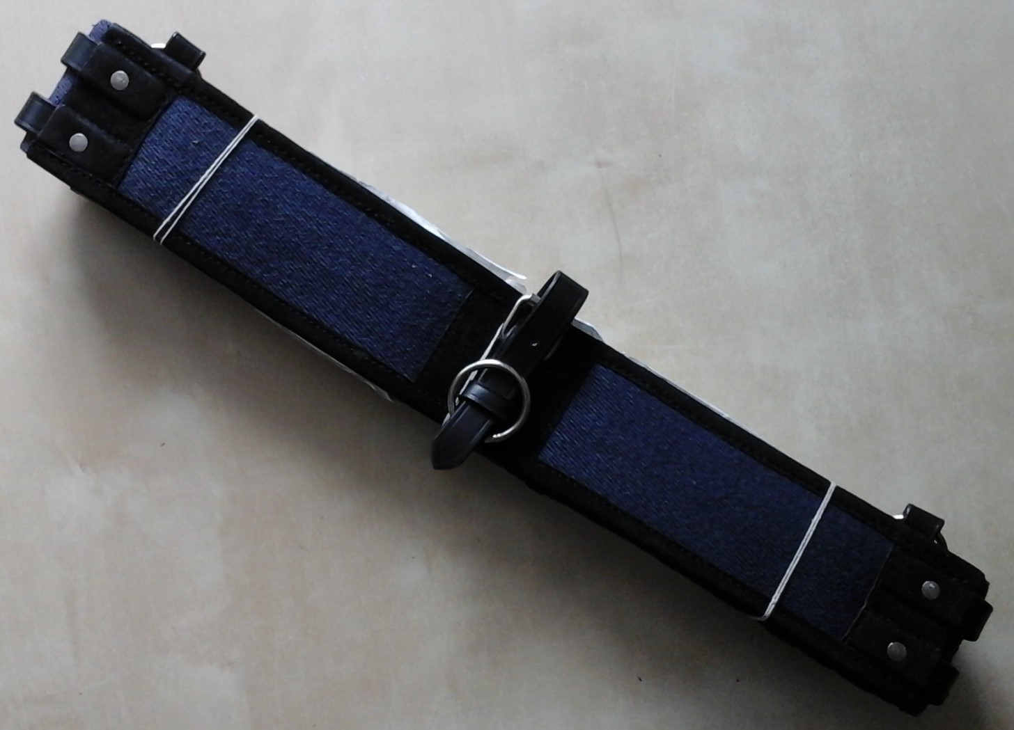 longiergurt busse canvas gr e shetty navy schwarz ebay. Black Bedroom Furniture Sets. Home Design Ideas
