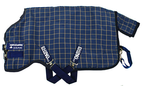 Outdoordecke Horseware Rhino Orginal Turnout Medium 200g navy 140cm