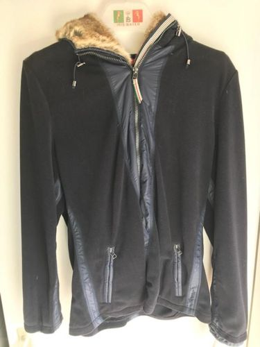 Jacke Fleecejacke Lauren Iris Bayer navy 44