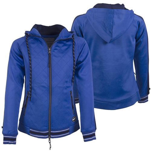 Sweatjacke Avah Junior QHP palace blue 140 152 164