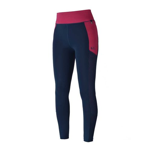 Reithose KANDY Junior girls compression tights F-Tec pink carmine 122 134 146