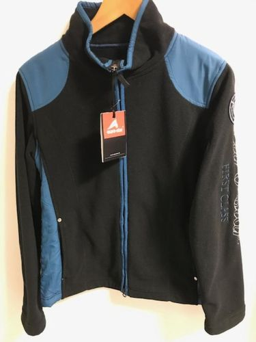 Jacke Fleece euro-star Modell Christin Ladies schwarz M L