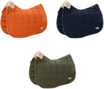 Schabracke Innopad Eskadron Platinum 2019/2020 martini-olive navy blue vermillion-orange DL VS