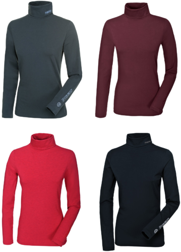 Sina Rollkragenpullover Pikeur Herbst/Winter 2019 bright red bordeaux anthrazit navy S M L XL