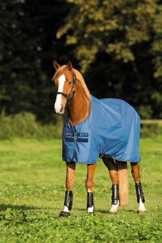 Paddockdecke Outdoor Horseware Amigo Hero 900D 50g colony blue 125 130 140 145 155