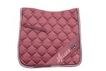 Schabracke Dressage Pad Roxie Spooks Herbst/Winter 2020 dark rose dark forest navy DL