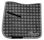 Schabracke Dressage Pad Glitter Spooks Herbst/Winter 2020 black dark grey blue DL